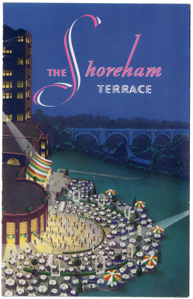 The Shoreham Terrace Restaurant menu