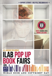"ILAB ""Pop Up"" Book Fairs for UNESCO World Book and Copyright Day"