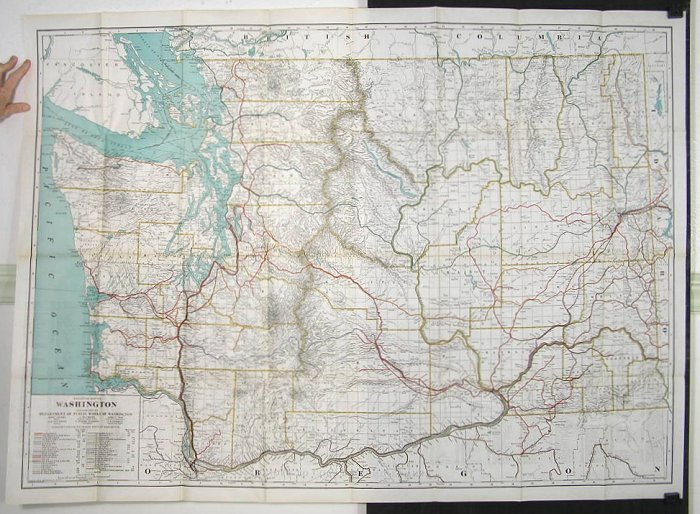 Railroad Map of Washington | WASHINGTON STATE