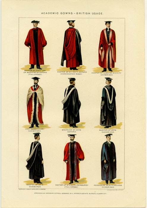 academic academic gowns
