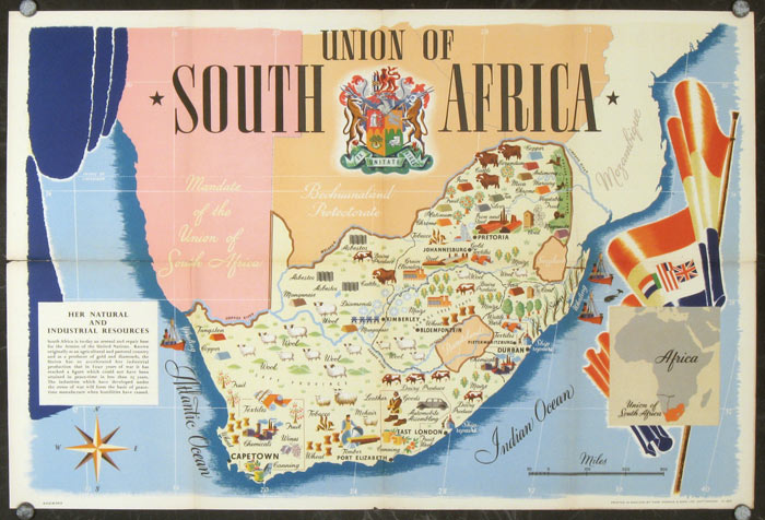 Union of South Africa Her Natural and Industrial Resources SOUTH