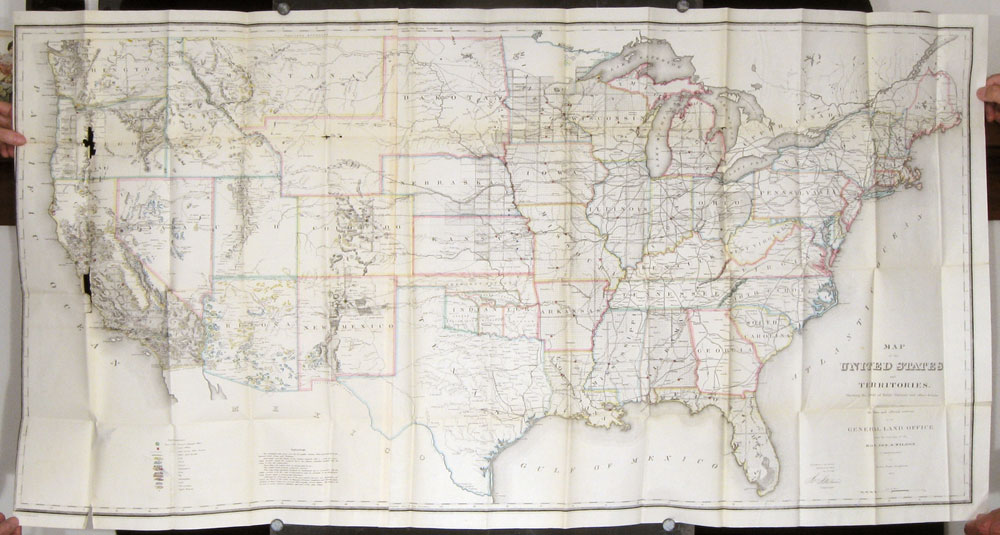 viaLibri ~ Map of the United States and Territories shewing