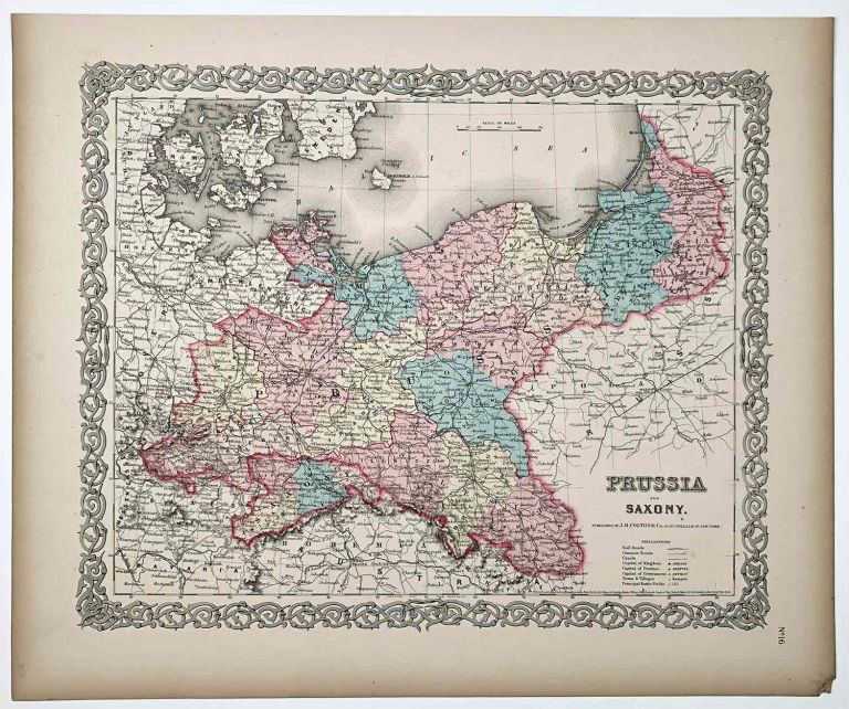 Prussia and Saxony. PRUSSIA.