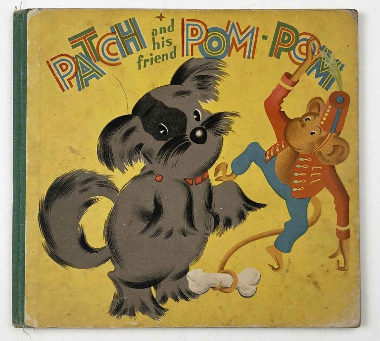 A Tale of Two Tails. Patch and his Friend Pom-Pom. AUSTRALIA, Anne Bracken.