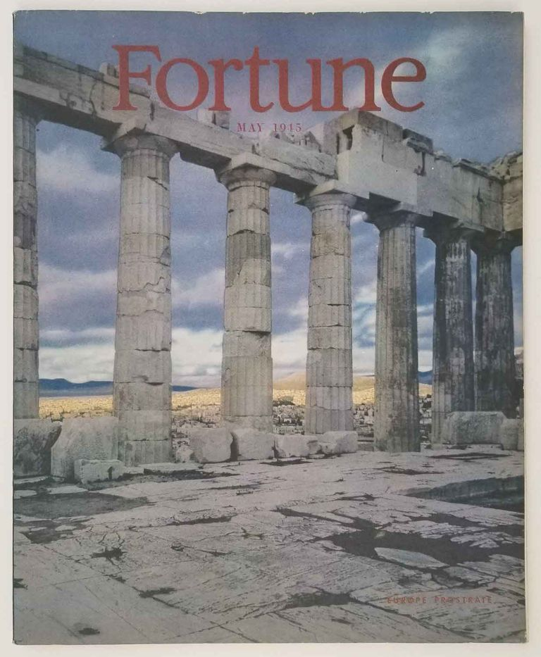 Fortune Magazine. 1945 - 05. AFRICAN AMERICAN HISTORY / WORLD WAR II.
