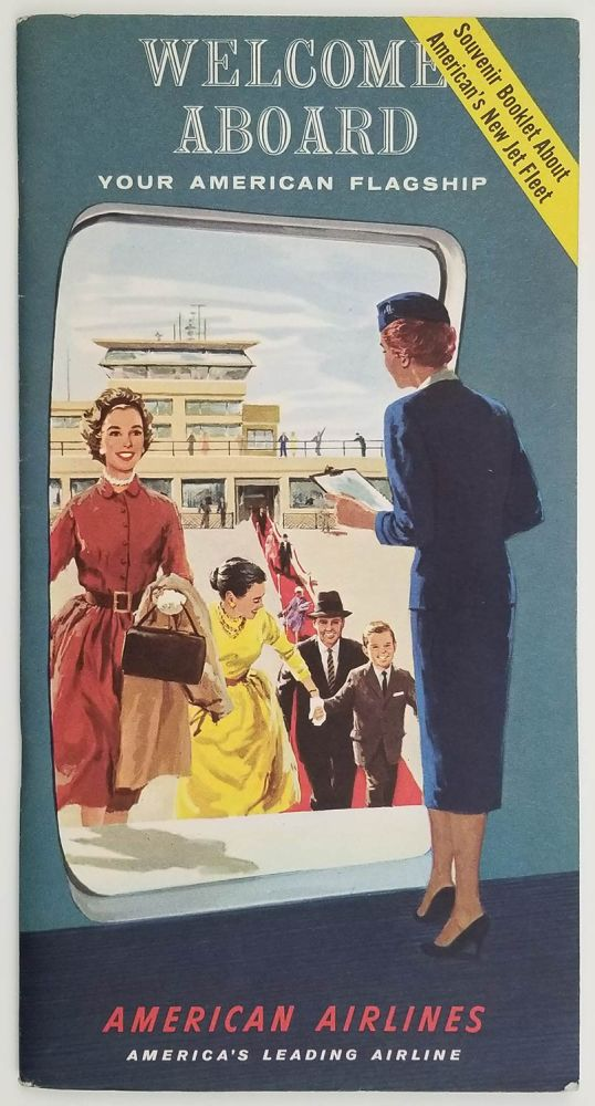 Welcome Aboard Your American Flagship. (American Airlines travel pack). AMERICAN AIRLINES.