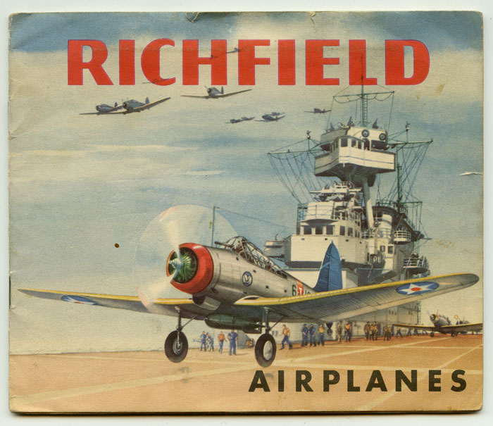 Richfield Airplanes. Building Model Airplanes