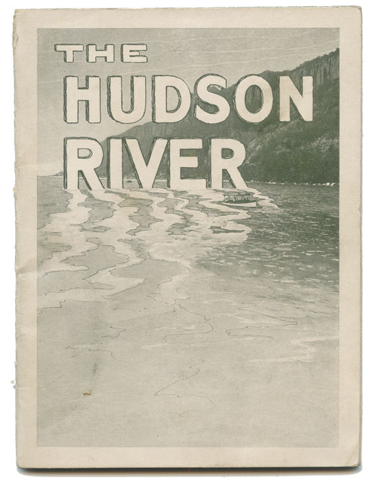 The Hudson River. New York Central Lines. NEW YORK CENTRAL LINES.