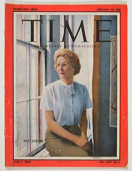 Time The Weekly Newsmagazine. 1960 - 02 - 29. PAT NIXON.