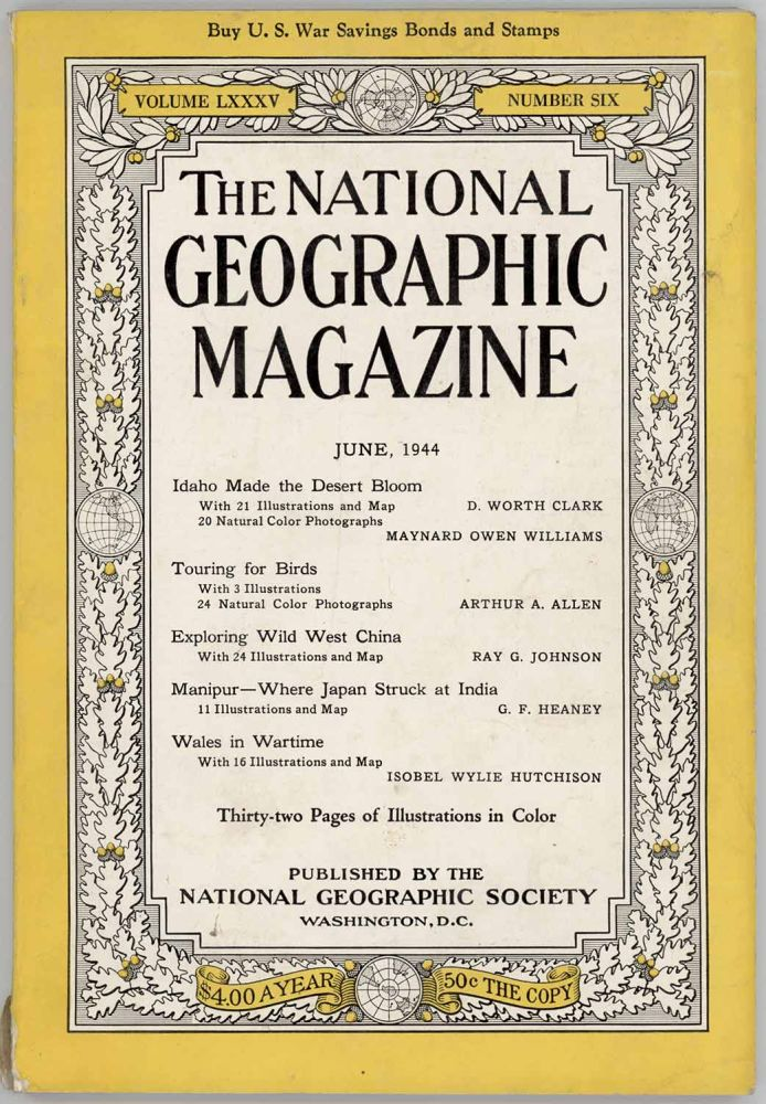 The National Geographic Magazine. 1944 - 06