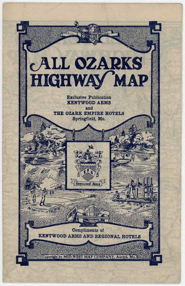 All Ozarks Highway Map. OZARKS.