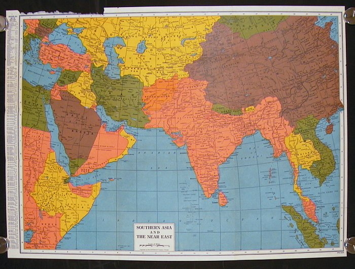 Southern Asia and the Near East. ASIA.