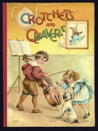 Crotchets and Quavers. CHROMOLITHOGRAPH.