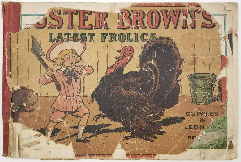 Buster Brown's Latest Frolics. BUSTER BROWN.