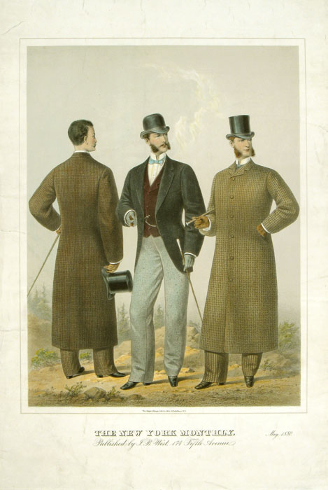 The New York Monthly. May 1880. 1880s FASHION.