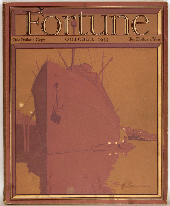 Fortune Magazine. 1933 - 10. (October). AGRICULTURE / COAL.