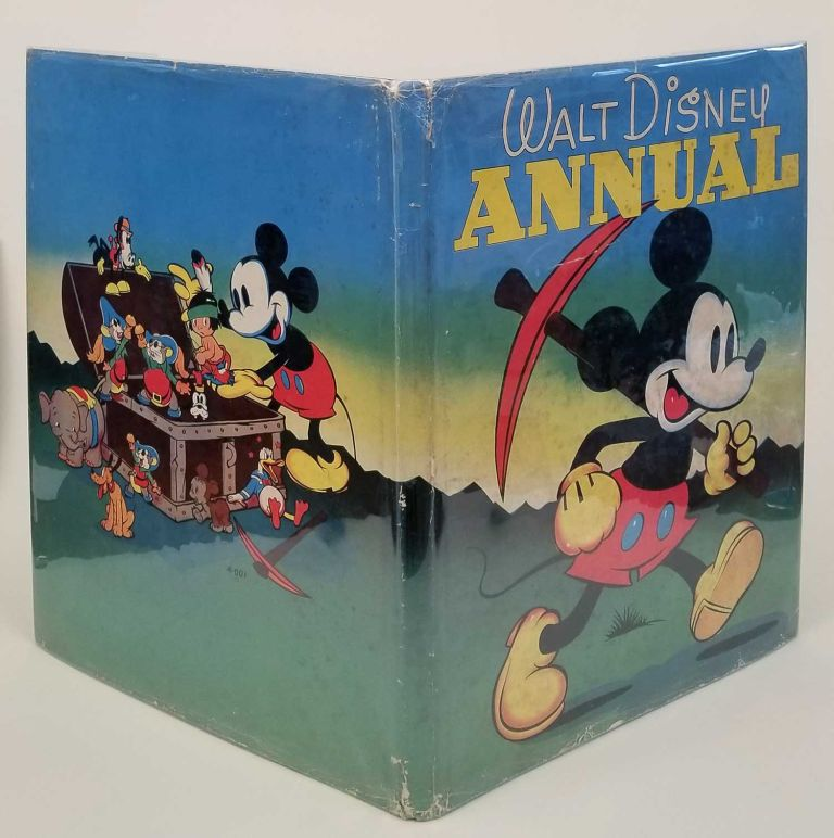 The Walt Disney Annual. [IN ORIGINAL COLOR PICTORIAL DUSTJACKET]. DISNEY - SILLY SYMPHONY STORIES.