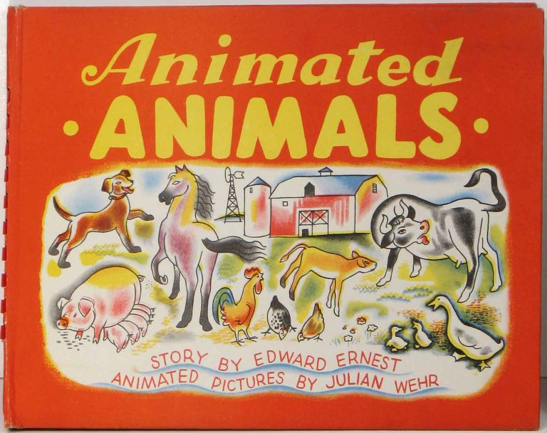 Animated Animals. POP-UP BOOKS, Edward Ernest.