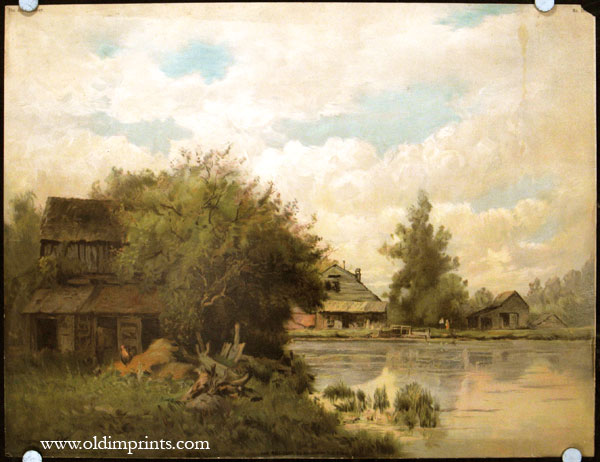 The Mill-Pond. LANDSCAPE.