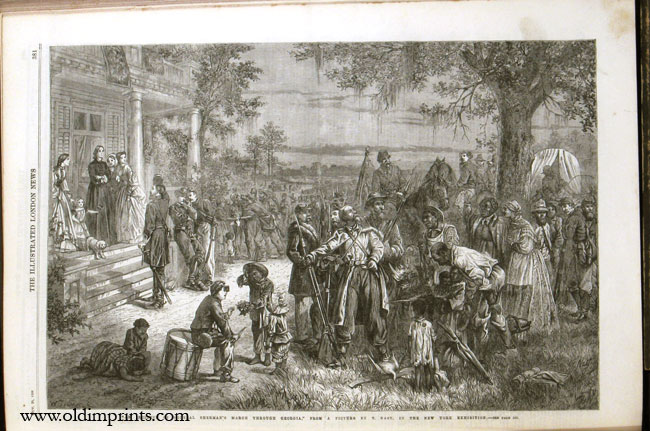 The Illustrated London News. 1866 - (07 - 12). July to December. ONE VOLUME. ATLANTIC TELEGRAPH / AUSTRO PRUSSIAN WAR.