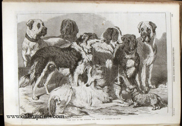 The Illustrated London News. 1869 - (01 - 06). January 2 to June 26. SUEZ CANAL / INDIA.