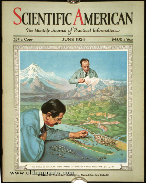 Scientific American. The Monthly Journal of Practical Information. CALIFORNIA - MAPS.