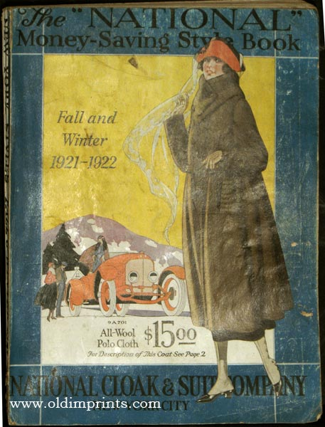 The National Money-Saving Style Book. Fall and Winter 1921 -1922
