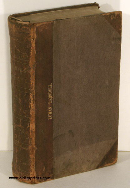 """Graham's Magazine. 1850. Volumes XXXVI and Volume XXXVII. January through December 1850. [including """"About Critics and Criticism"""" ]. AMERICAN INDIANS / POE / 1850 FASHION, Edgar Allan Poe."""