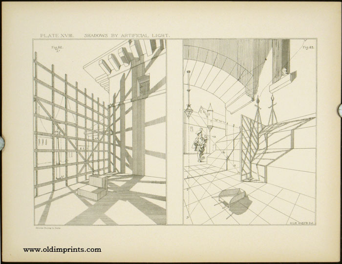 Modern Perspective. Plates. ARCHITECTURE - PERSPECTIVE DRAWING, William Ware.