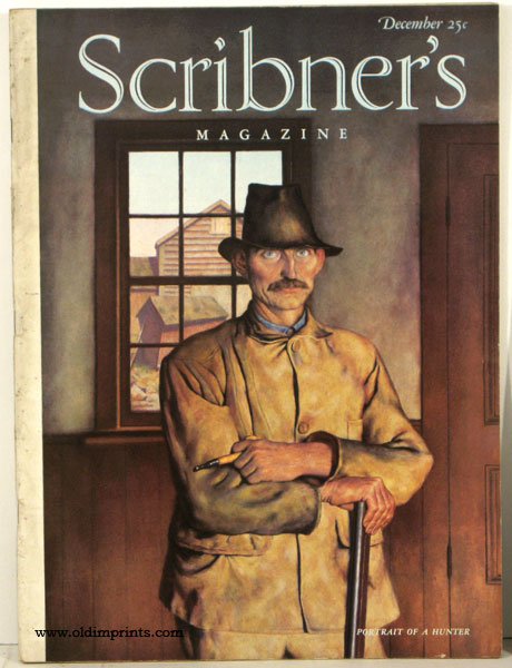 Scribner's Magazine. 1938 - 12. FOOTBALL / HUNTING.