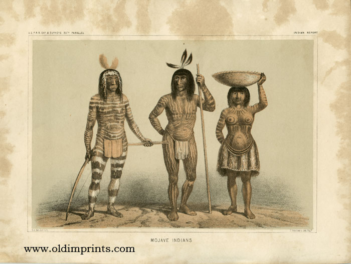 Mojave Indians. 35th PARALLEL - MOJAVES.