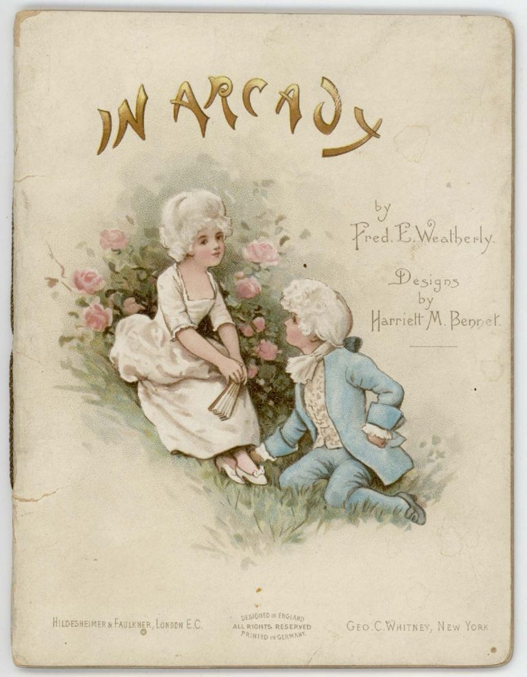 In Arcady. CHROMOLITHOGRAPHS - CHILDREN, Fred. E. Weatherly.