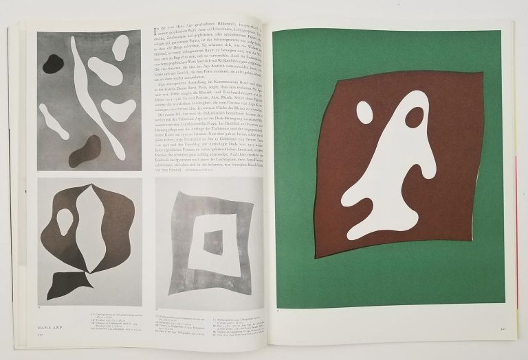 Graphis. International Journal for Graphic and Applied Art. July - August 1959. No. 84. ARP LITHOGRAPH.