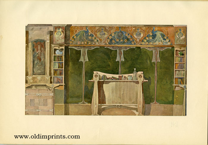 The International Studio. An Illustrated Monthly Magazine of Fine & Applied Art. 1899 - 06. Charles Holme.