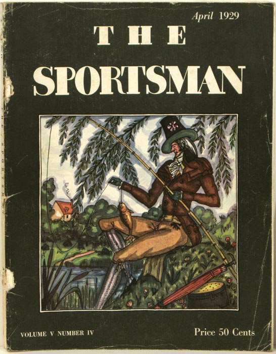 The Sportsman. 1929 - 04 (April). FISHING / GOLF, Richard Ely Danielson.