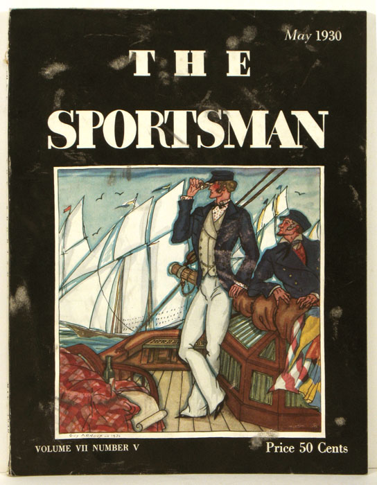 The Sportsman. 1930 - 05 (May). GOLF / SAILING, Richard Ely Danielson.