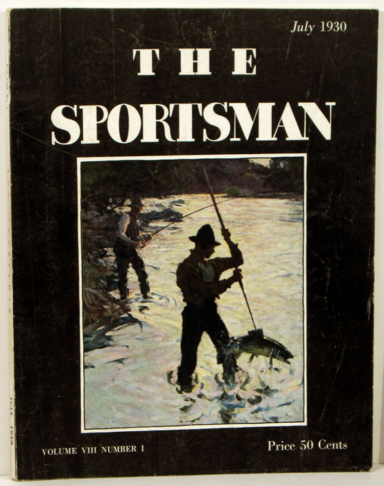 The Sportsman. 1930 - 07 (July). GOLF / HORSE RACING / FISHING FRONT COVER, Richard Ely Danielson.