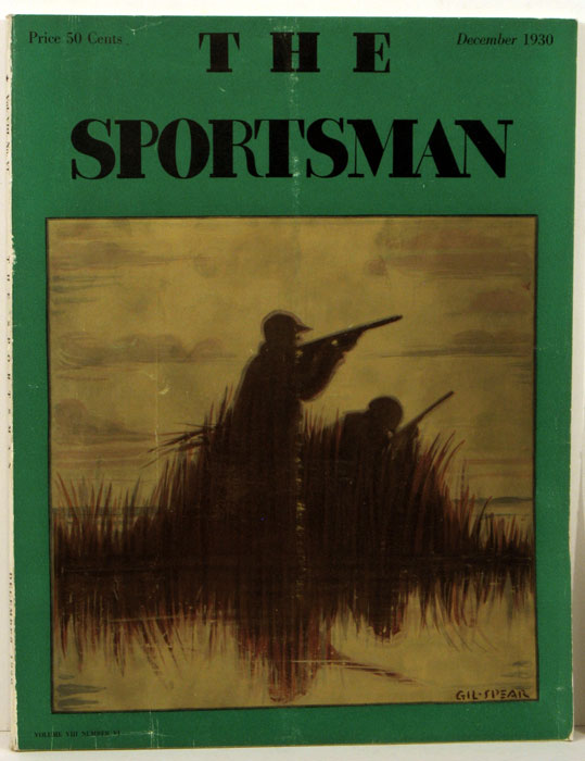 The Sportsman. 1930 - 12 (December). YACHTING / GOLF, Richard Ely Danielson.