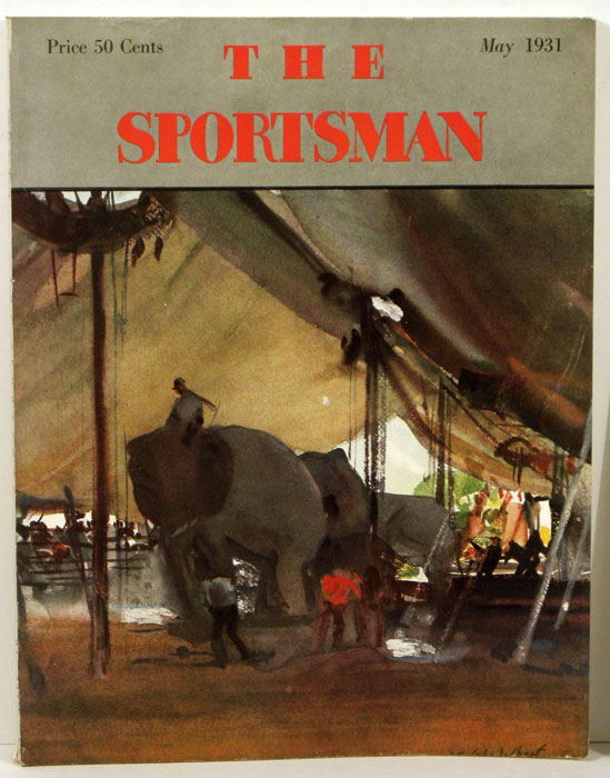 The Sportsman. 1931 - 05 (May). GOLF / SWIMMING, Richard Ely Danielson.