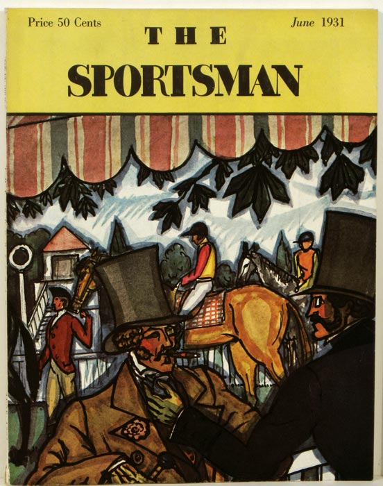 The Sportsman. 1931 - 06 (June). GOLF / YACHTING, Richard Ely Danielson.