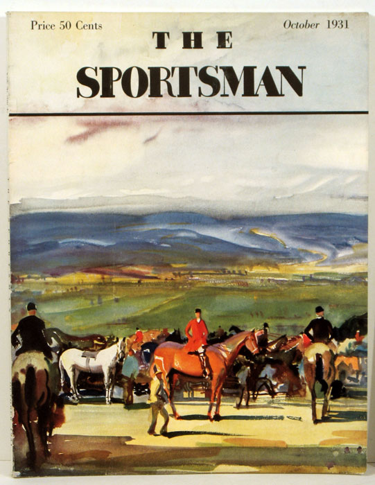 The Sportsman. 1931 - 10 (October