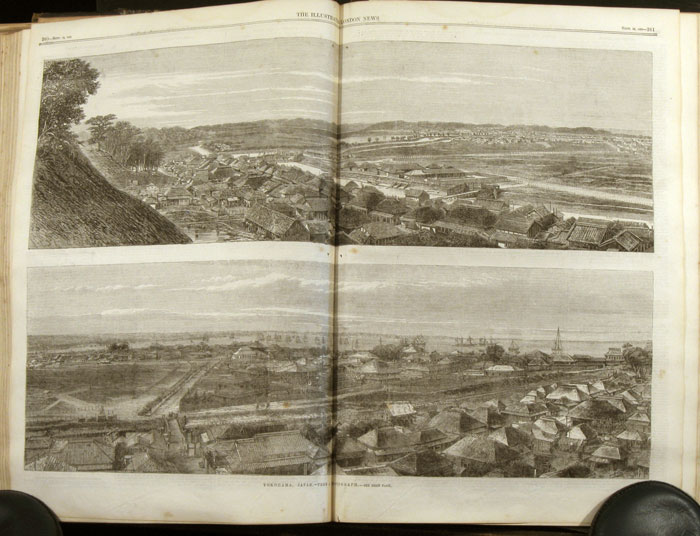 The Illustrated London News. 1863 - (07 - 12). July to December. ONE VOLUME. CIVIL WAR / RAILROADS.