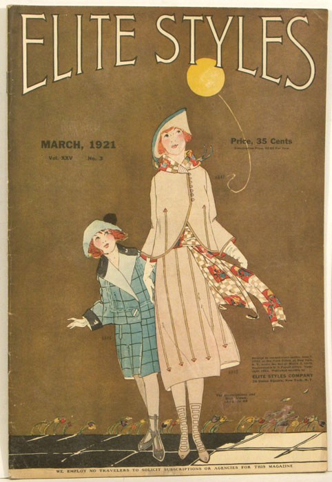 Elite Styles. 1921 - 03 (March). 1920s FASHION.