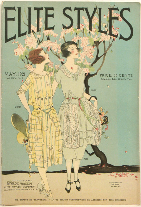 Elite Styles. 1921 - 05 (May). 1920s FASHION.