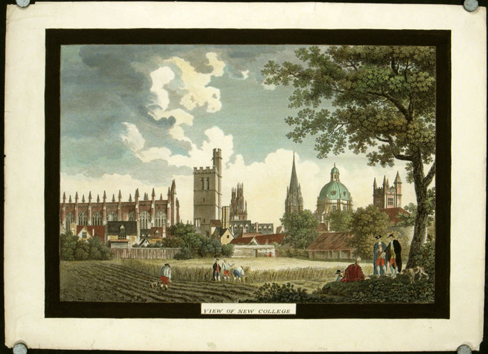 New College, Oxford. TOGETHER WITH Fell's Buildings. ENGLAND - OXFORD - ARCHITECTURE.