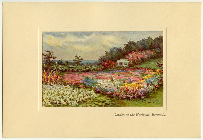 Colors prints of Bermuda by Ethel Tucker. BERMUDA.