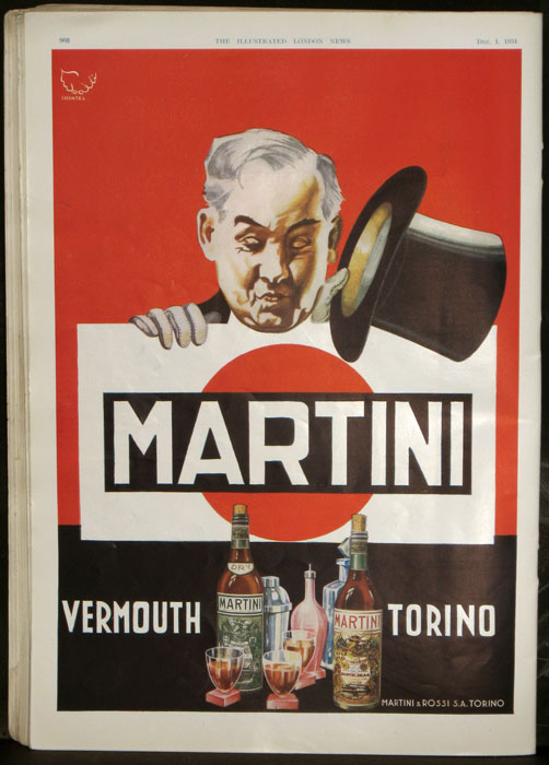 The Illustrated London News. 1934 - 12 - 01 (December). MARTINI, ROSSI.