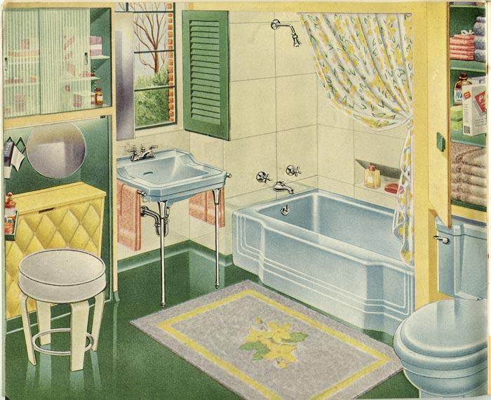 Planning Your Home for Health and Comfort. MID-CENTURY PLUMBING AND HEATING.