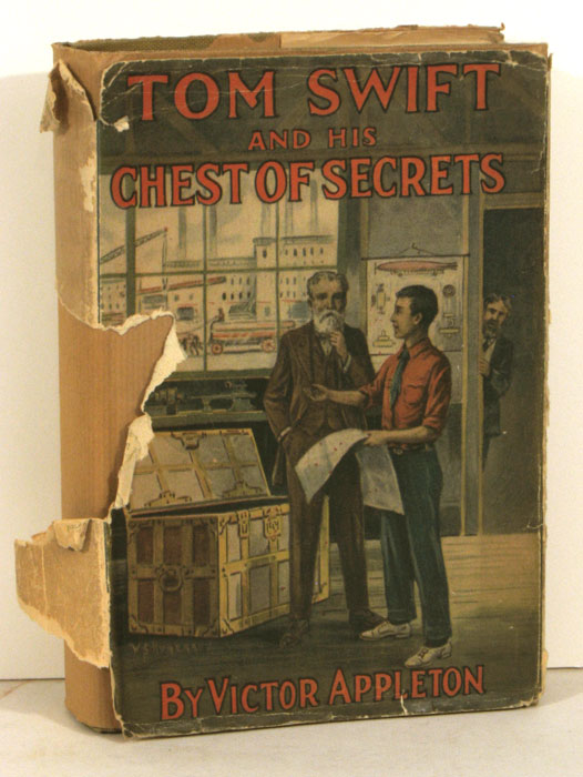 Tom Swift and His Chest of Secrets or Tracing the Stolen Inventions. VICTOR APPLETON, Victor Appleton.