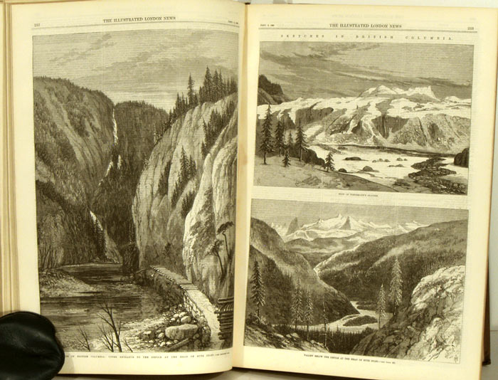The Illustrated London News. 1868 - (07 - 12). July to December. BOUND VOLUME. ABYSSINIAN EXPEDITION etc.
